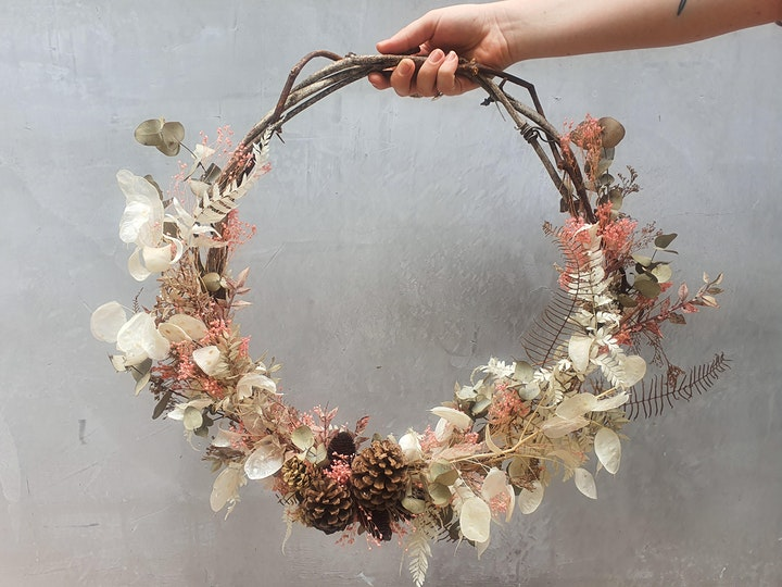 Everlasting Botanical Wreath Workshop image