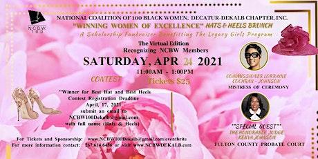 """Winning Women of Excellence"" Hats & Heels Brunch Scholarship Fundraiser! tickets"