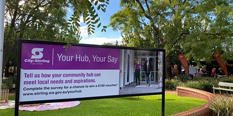 Mirrabooka Your Hub, Your Say - Community Hub Connect tickets