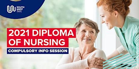 Diploma of Nursing mid-year info session - Hamilton tickets