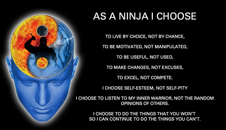 BECOME A MIND NINJA - BOOK LAUNCH PARTY image