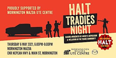 HALT Tradies Night tickets