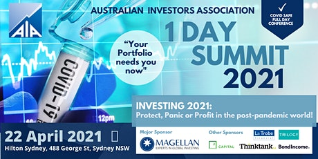 Investing 2021: Protect, Panic or Profit in the Post-Pandemic World! tickets