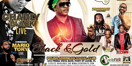 CHARLY BLACK LIVE IN CONCERT / GOLD & BLACK EDITION tickets