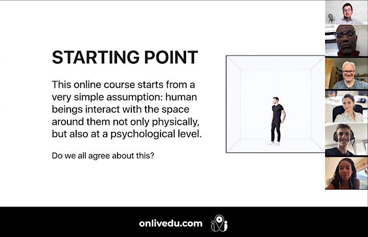 Interior Design Psychology - online course (3 classes) image