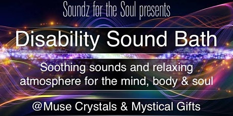 Disability Sound Bath tickets
