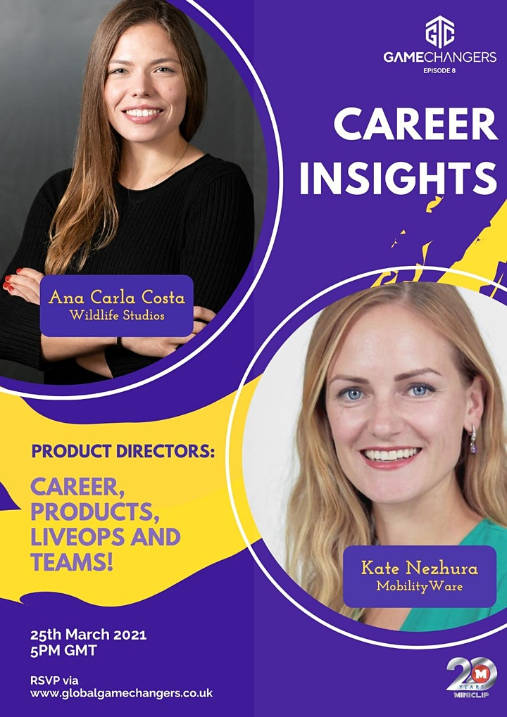 Game Changers: Career Insights... Product Directors image