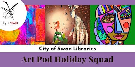 Art Pod Holiday Squad 'Roll a Picasso' (Bullsbrook) tickets
