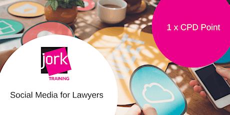 Social Media Marketing for Lawyers 1xCPD point (webinar) tickets