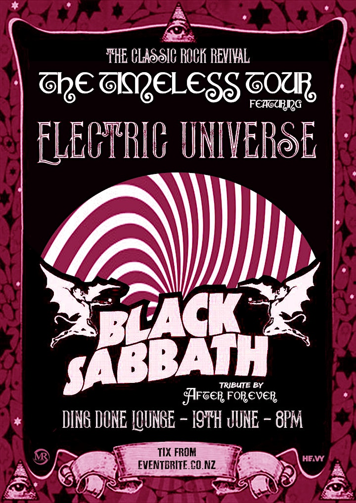 Classic Rock Revival Feat. Black Sabbath Tribute and Electric Universe image