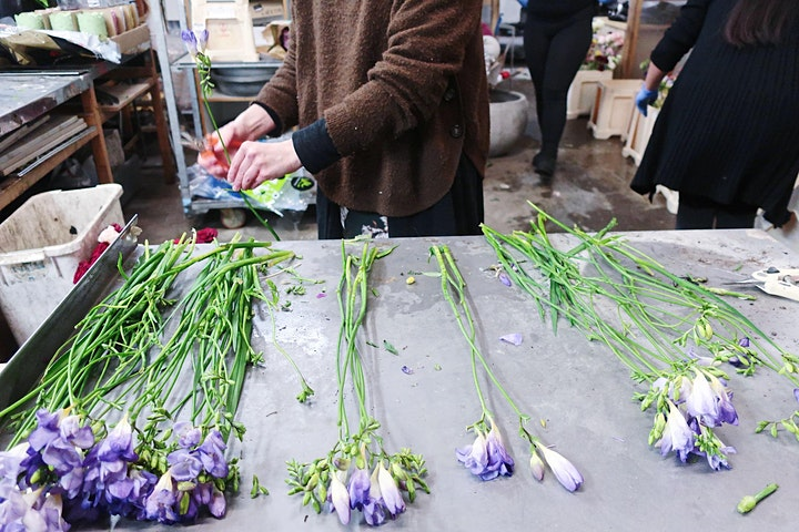 """From Rescue Waste Flowers to Bouquets"" Workshop image"