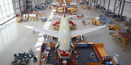 Avgeek Airbus Toulouse Trip billets
