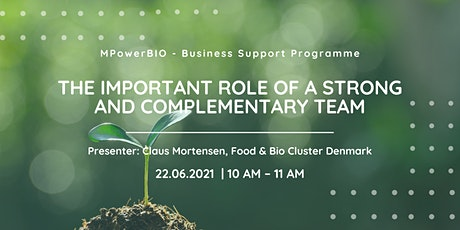 MPowerBIO BSP - The Important Role of a Strong & Complementary Team tickets