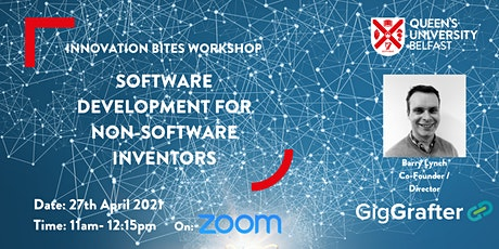 Software Development for non-software inventors tickets