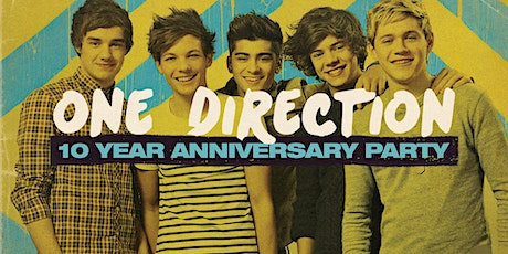 One Direction 10 Year Anniversary Party #2 - Wellington tickets