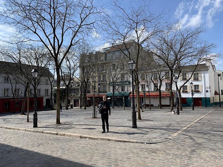 Paris Walk - the Village of Montmartre image