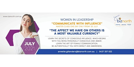 Women in Leadership - Communicate with Influence tickets