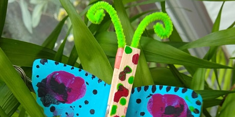 Family  Crafts- Butterfly Clips- For families with children 5 and over tickets