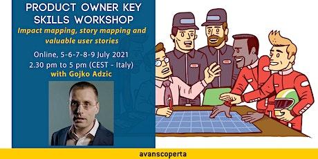 Product Owner Key Skills Workshop tickets