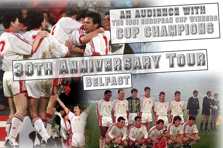 The 1991 Cup Winners Cup Manchester United Legends Tour - Northampton image