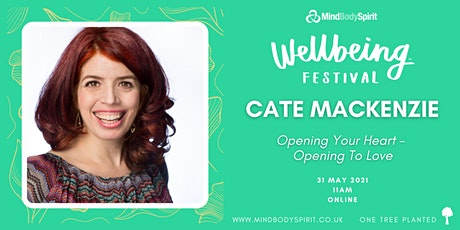 Cate Mackenzie - Opening Your Heart: Opening To Love tickets