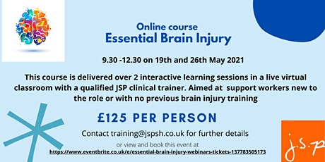 Essential Brain Injury webinars tickets