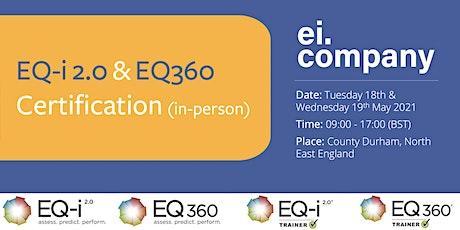 EQ-i 2.0 & EQ360 Certification (in-person) tickets