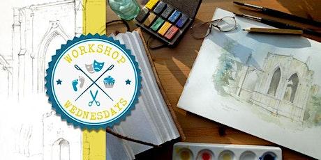 Watercolour Workshop with Peter David Scott: Through A Glass Darkly tickets