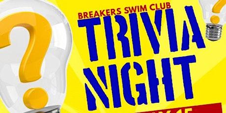Breakers Swim Club Quiz Night tickets