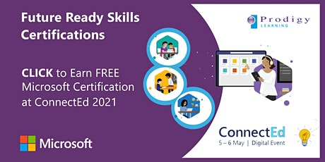 ConnectEd 5th-6th May 2021 - Microsoft Certifications Virtual Testing Lab tickets