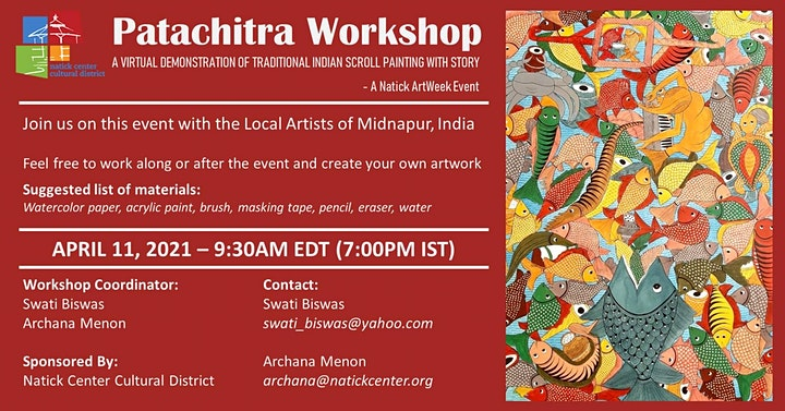 Patachitra Workshop - Learn Traditional Indian Scroll Painting image