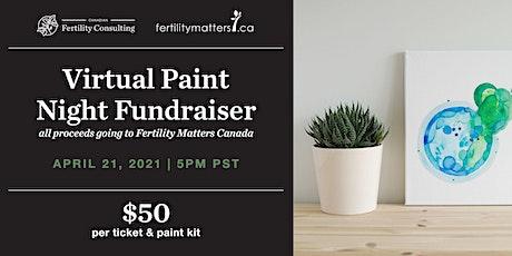 Virtual Paint Night Fundraiser for Infertility Awareness Week tickets