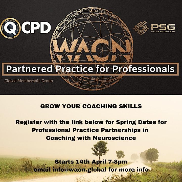 Professional Partnered WIN Coaching Practice image