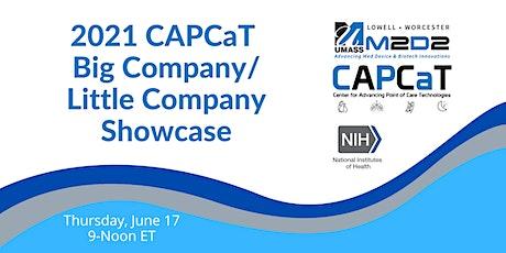 2021 CAPCaT Big Company/Little Company Showcase tickets