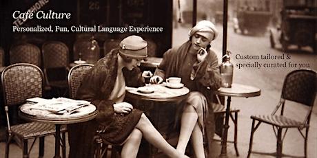 Café Culture: BEGINNERS French Conversation Practice ingressos