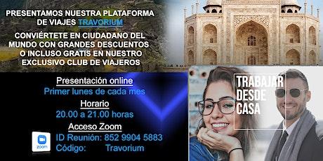 CLUB DE VIAJES TRAVORIUM. AHORROS Y BENEFICIOS PARA SUS SOCIOS. entradas