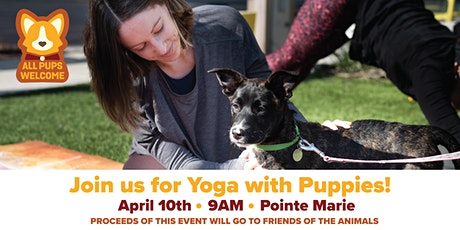 Yoga with Puppies: April tickets