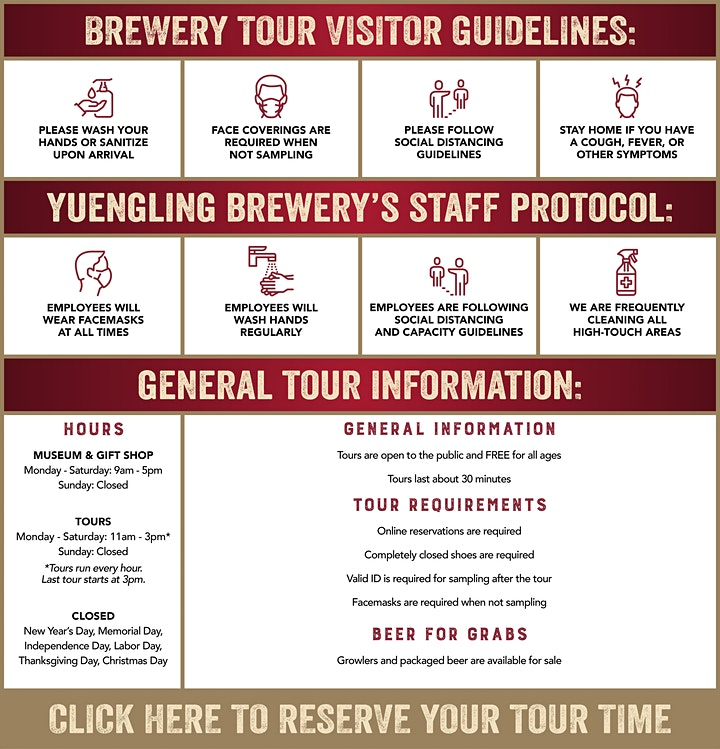 Yuengling Brewery Tour Reservations - 2021 image
