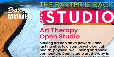 Discover Art Therapy - Open Studio tickets
