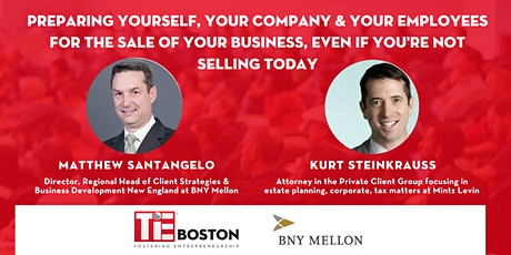 BNY Mellon Lunch & Learn: Preparing for the sale of your business tickets
