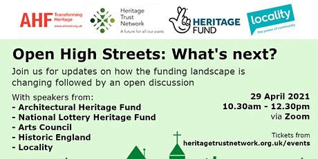 Open High Streets: What's Next? tickets