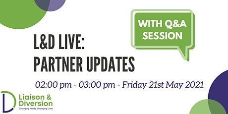 Q&A and Partner Updates - L&D Live tickets