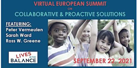 Lives in the Balance (Virtual) European  Summit tickets