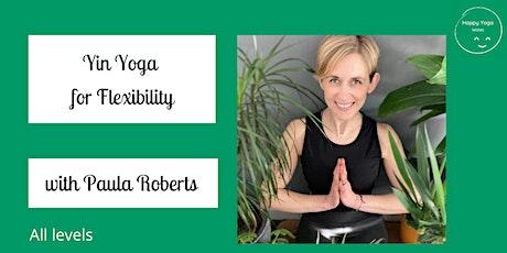 Yin Yoga for Flexibility (All levels) entradas