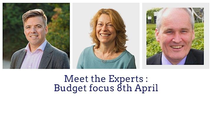 Meet the Experts : Budget focus image