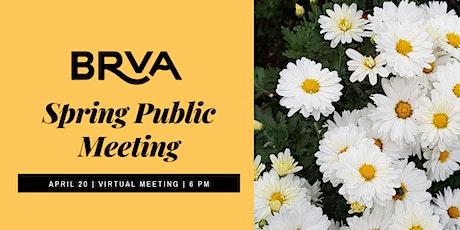 Broad Ripple Village Association April 2021 Public Meeting tickets