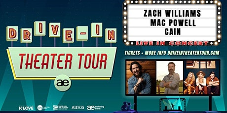 VOLUNTEER - Zach Williams Drive-In / Carrolltown, PA tickets
