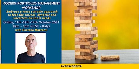 Modern Portfolio Management Workshop tickets