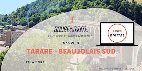 Lancement de Bouge ta Boite à Tarare- Beaujolais SUD billets