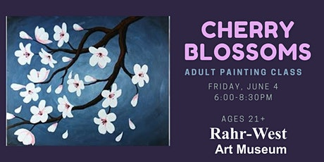 Cherry Blossoms Adult Painting Class tickets